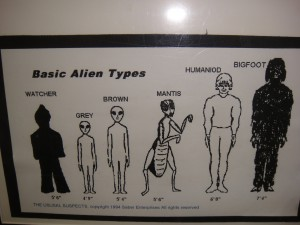 Bigfoot Alien
